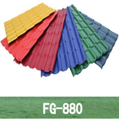 PVC Spanish Roofing Tile